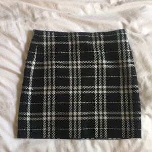 Plaid JCrew mini skirt